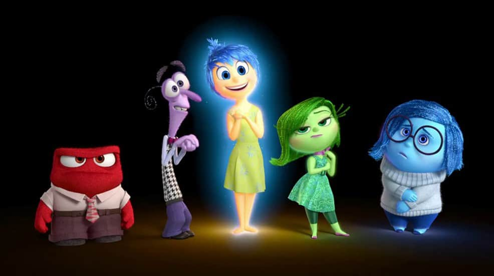 Pixar Inside Out Movie